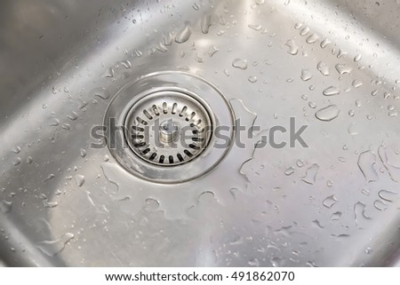 Genial The Wet Sink After Dishes Were Washed