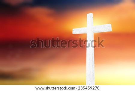 The white cross. Lent, Church, Amen, God, Palm, Help, Life, Sun, Pray, Art, Sky, Day, Hill, Supper, Color, Wood, Shine, Follow, Peace, Gospel, Mercy, Death, Trust, Savior, History, Abstract, Suffer.