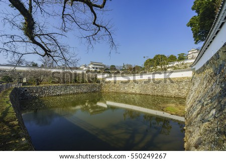The white Heron castle - Himeji at Kobe, Japan