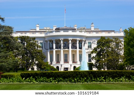 The White House in Washington DC, USA - stock photo