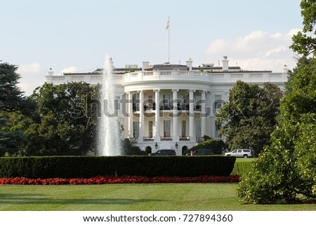 The White House is the official residence and workplace of the President of the United States. It is located at 1600 Pennsylvania Avenue NW in Washington, D.C, August 4, 2017