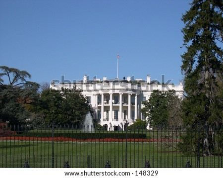 The White House, residence of the President of the United States of America