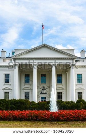 The White House - Washington D.C. - stock photo