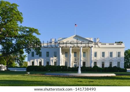 The White House - Washington DC, United States  - stock photo