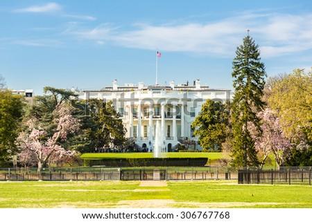 The White House Washington DC, United States - stock photo