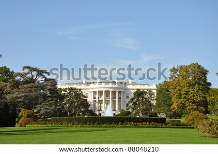 The White House, Washington DC, USA