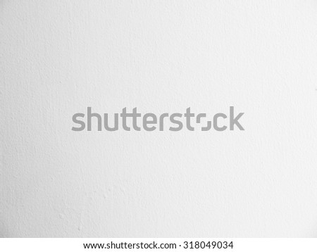 The white plastered wall texture - stock photo