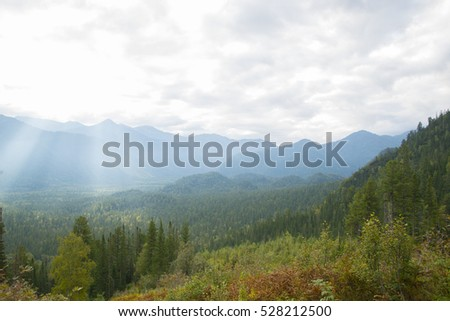 The wild and desolate mountains of the Khamar-Daban, the territory of Eastern Siberia.