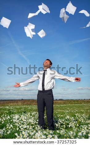 The winner - stock photo