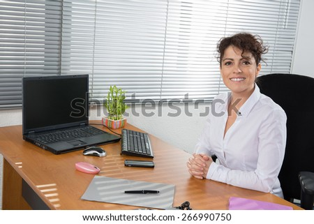 The Women executive  working together at the office - stock photo