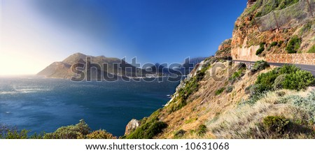 The wonders of nature - South Africa coastline - stock photo