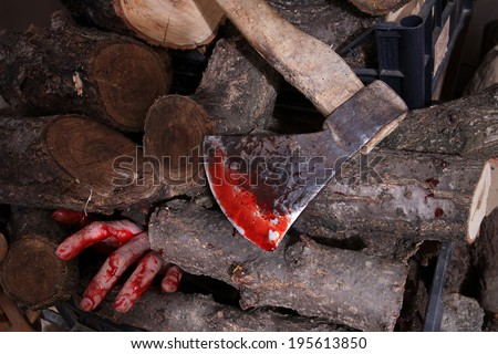 The woodcutter - stock photo