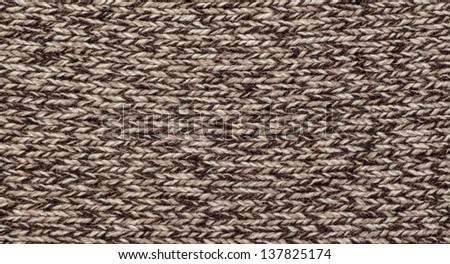 The woolen background. close up. macro shot - stock photo