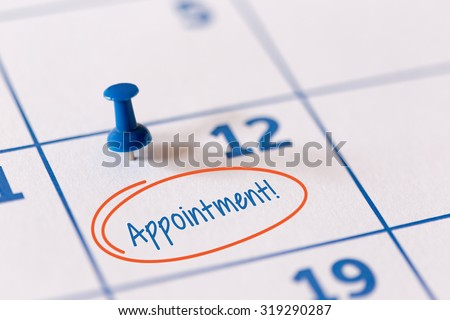 calender appointment