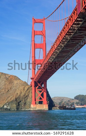 The world famous Golden Gate,California
