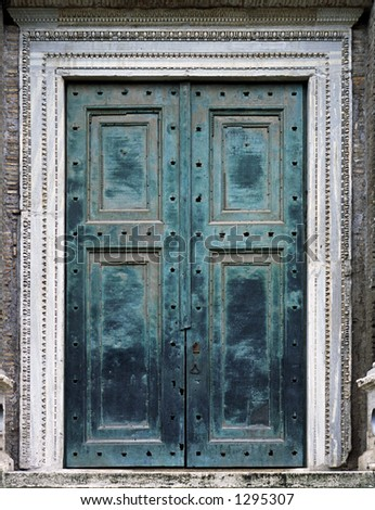 The world's oldest bronze doors