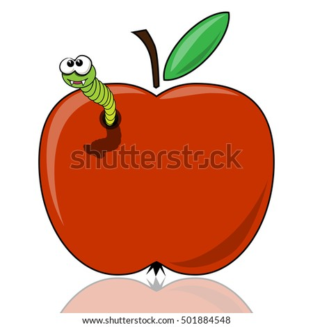 The worm in the apple