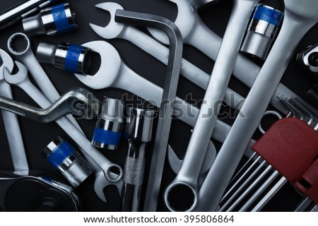 The wrench steel tools for repair