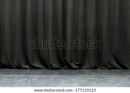Black Curtain Texture black drapes stock images, royalty-free images & vectors