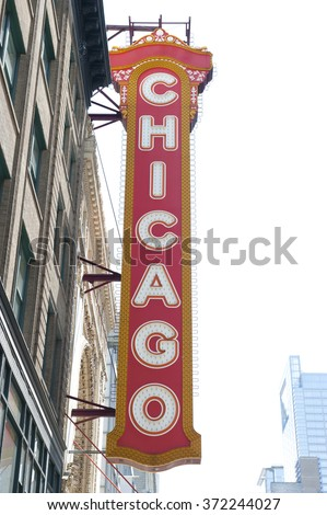 Theater Building in Chicago
