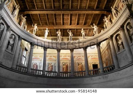Theater in Sabbioneta, Italy - stock photo