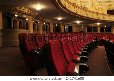 Theater - interior view