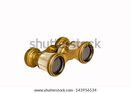 Theatre binoculars - stock photo