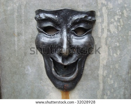 Theatre Theater Drama face mask - stock photo