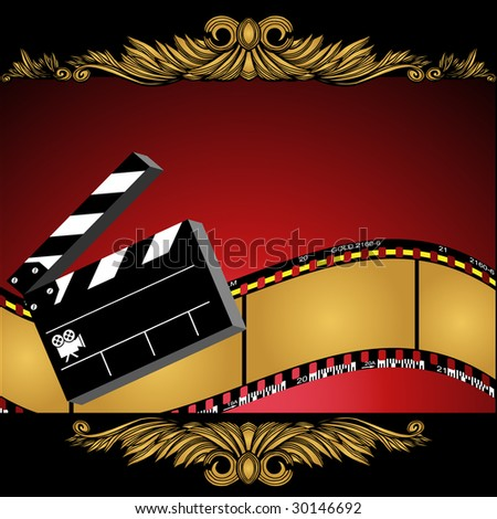 Theatrical film background stock illustration 30146692 shutterstock theatrical film background voltagebd Image collections