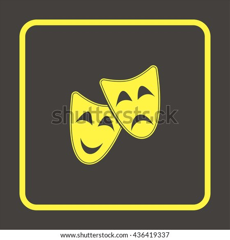 Theatrical mask.