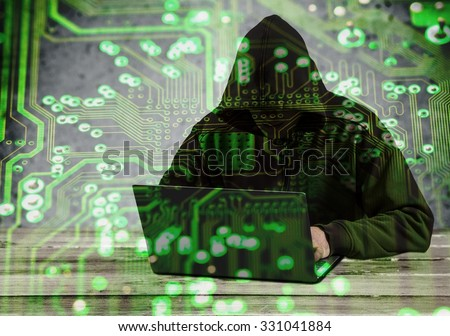 Theft. - stock photo