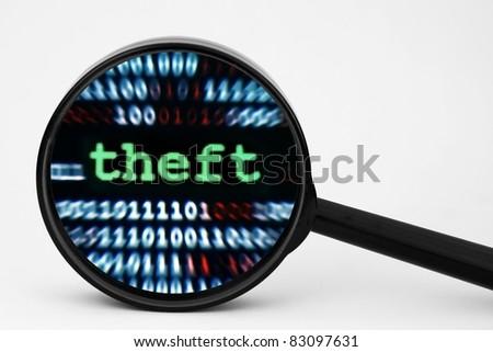 Theft concept - stock photo