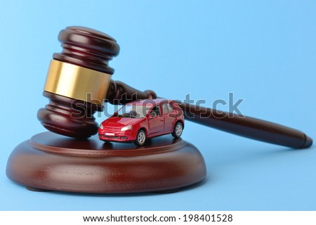 theme of driving and the law  - stock photo