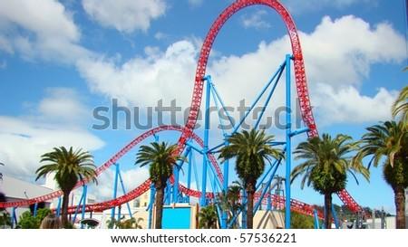 Theme Park - stock photo