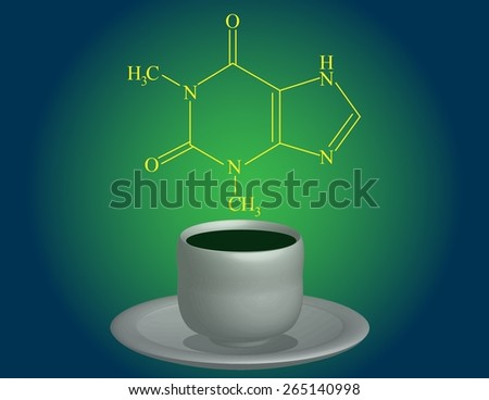 Theophylline - stock photo