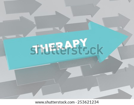 THERAPY - stock photo