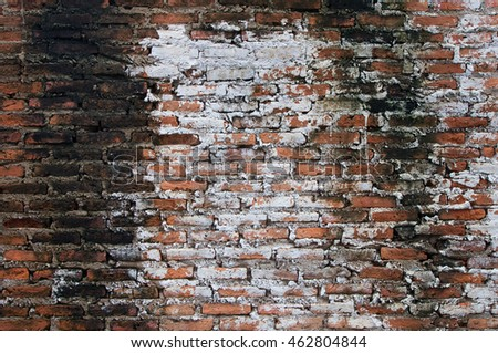 There are the brick wall. It is good background.