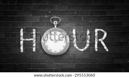There will be no better time then today and now - stock photo