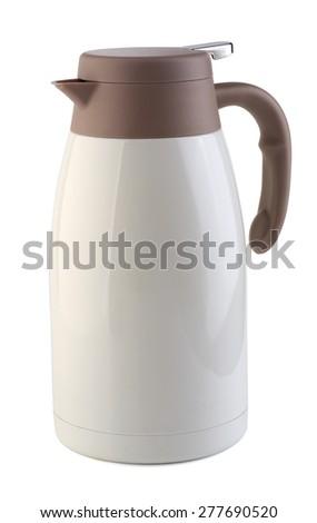 Thermos bottle  - stock photo