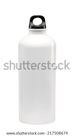 thermos isolated - stock photo