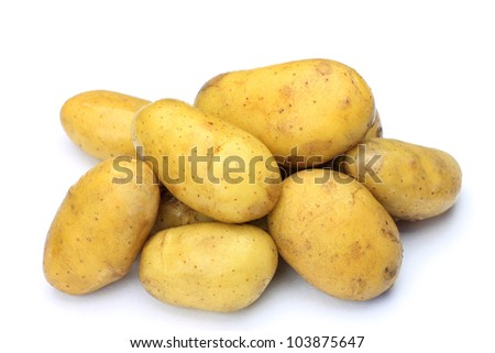 These are new potatoes.