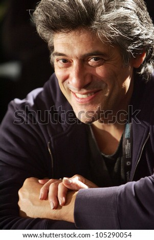THESSALONIKI,GREECE - NOV,23: Actor George Corraface during opening ceremony of 47th Thessaloniki International Film Festival on Nov 23, 2006 in Thessaloniki, Greece.