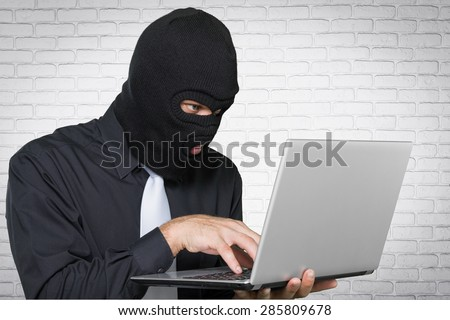 Thief, Computer Hacker, Stealing.