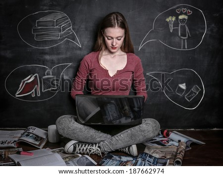 things in life - stock photo