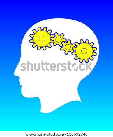 THINKING - stock photo