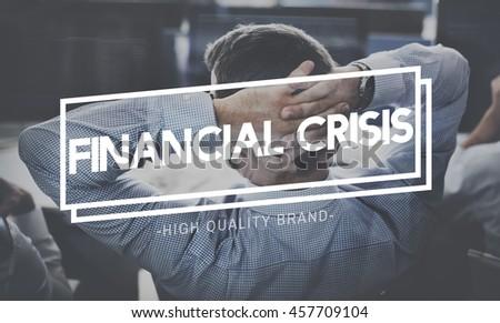 Thinking Crisis Analyse Depression Problem Concept - stock photo