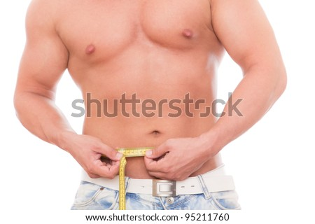 thinner diet - stock photo