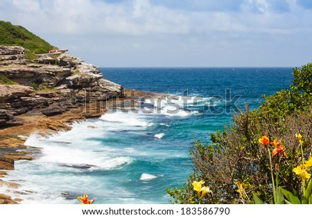 This image shows Bondi Beach in Sydney, Australia