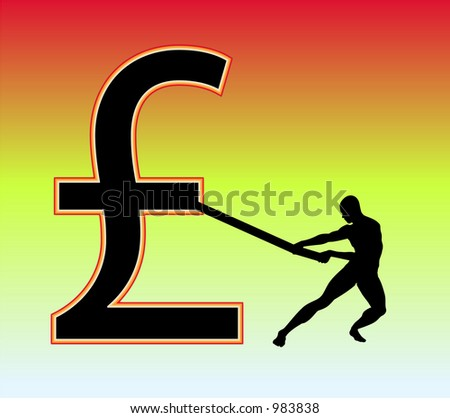 This is a British pound sign.