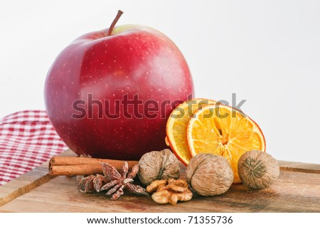 This is a close-up of vegetables and fruits - stock photo